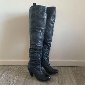 Miz Mooz Serra Over the Knee Leather Boots